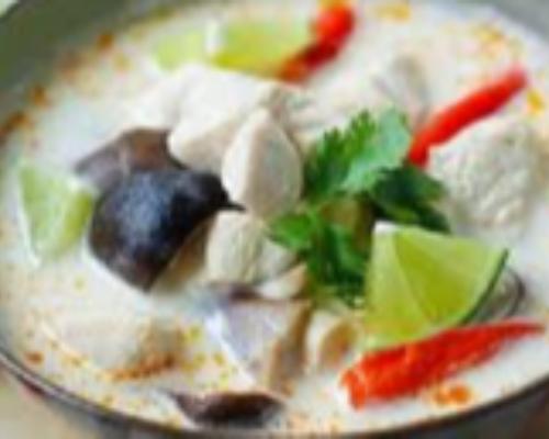 Tom Kha Gaj Soup (Hot)