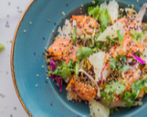 Sashimi Salad (HOT)