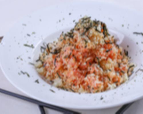 Crunchy Salmon Salad (Hot)