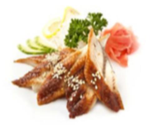 Unagi Sashimi 4 Pcs