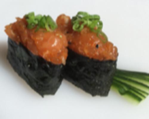 Salmon Gunkan 2 Pcs