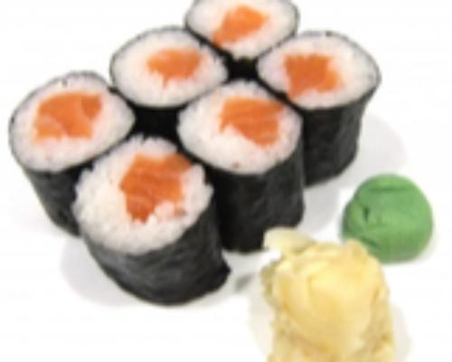 Salmon Maki 6 Pcs