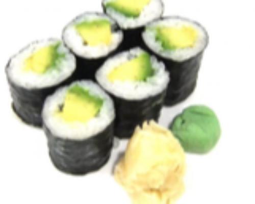 Avocado Maki 6 Pcs