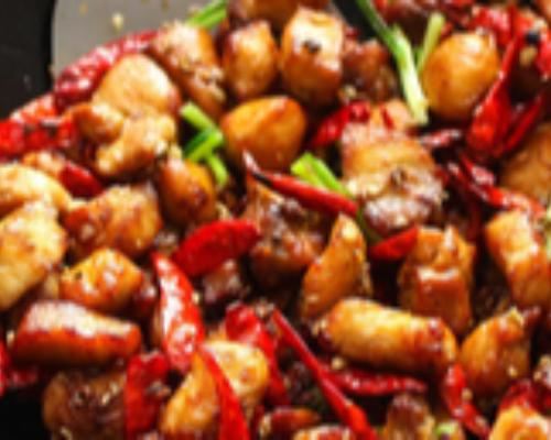 Chicken Szechuan Hot
