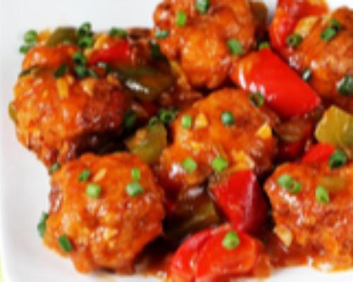 Chicken Manchurian (Hot)