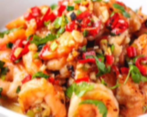 Chili Shrimp With Basil HOT