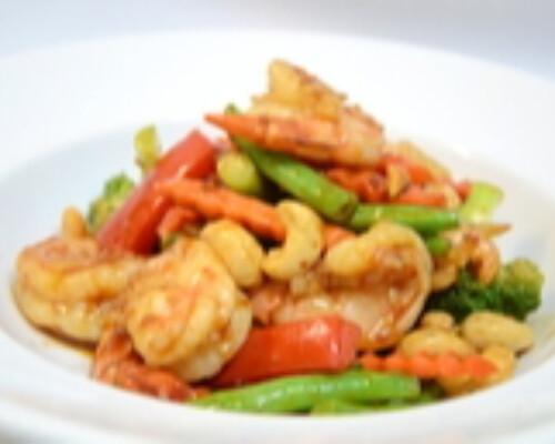 Kung Pao Shrimp Hot