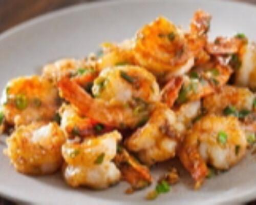 Shrimp With Garlic & Ginger