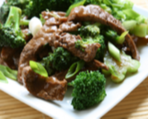 Beef Broccoli With Garlic