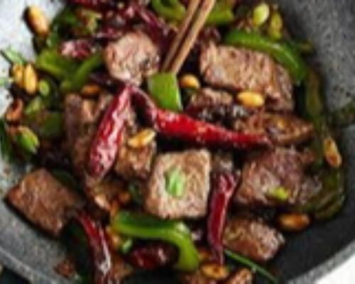 Kung Pao Beef Hot