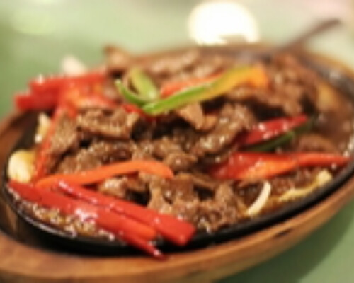 Beef Sizzling Hot